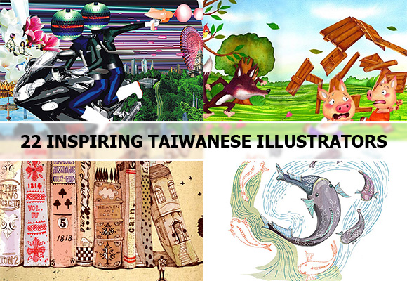 22 Inspiring Taiwanese Illustrators