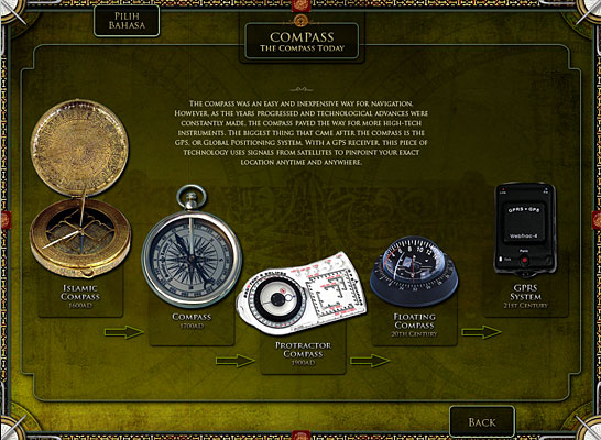 The Compass Today Kiosk Interface