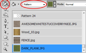 Photoshop Paint Bucket Pattern