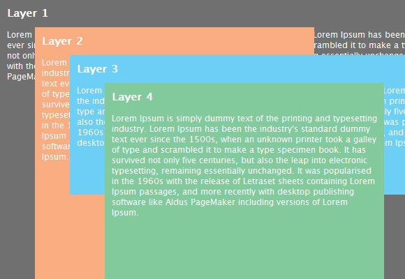An Indepth Coverage On CSS Layers, Z-Index, Relative And