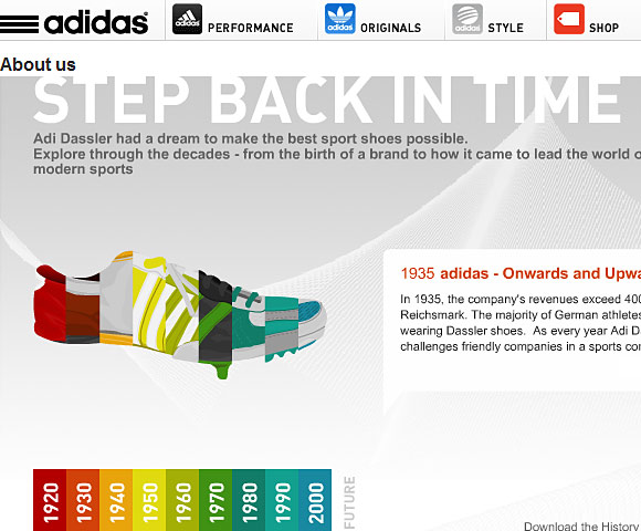 Adidas About Us