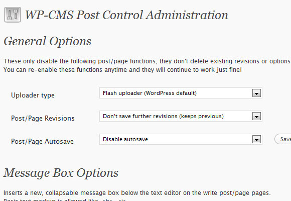 WordPress CMS Post