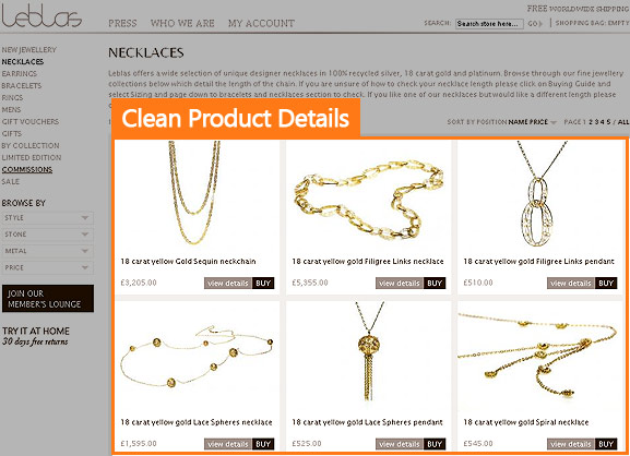 Leblas Clean Product Details