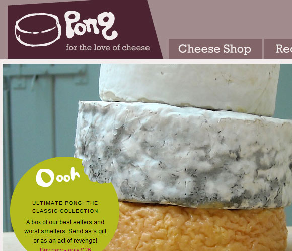 Pong Cheese Shop