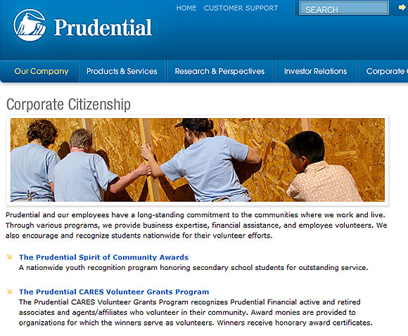 Prudential Community Relations