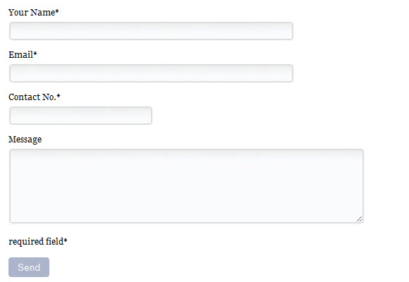 Pure CSS Web Form