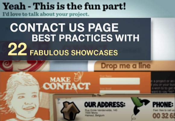 Contact Us Best Practices
