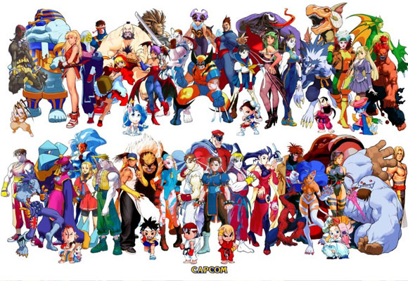 Capcom Superheroes