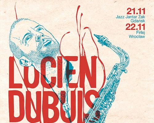 Lucien Dubuis Trio Gig Poster