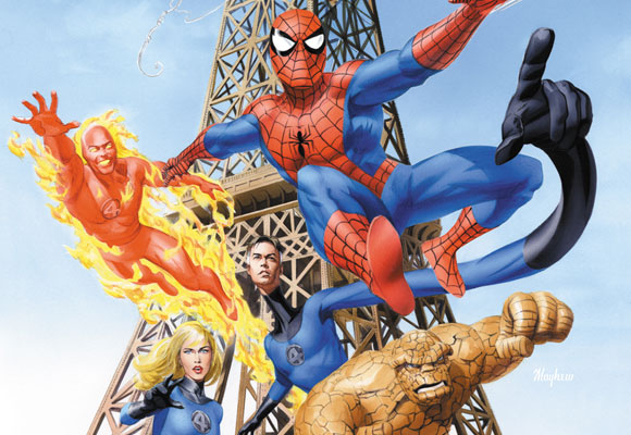 Spiderman and Fantastic 4