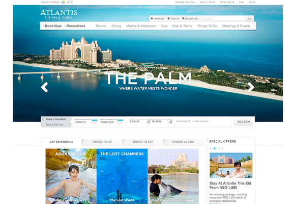 Checking in hotel web design 50 cosy hotel websites and for Hotel web design