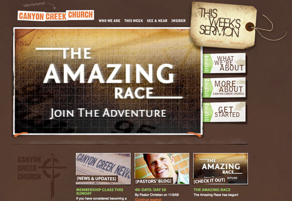 Dissection of Holy Websites: Modern Church Web Design Trends ...