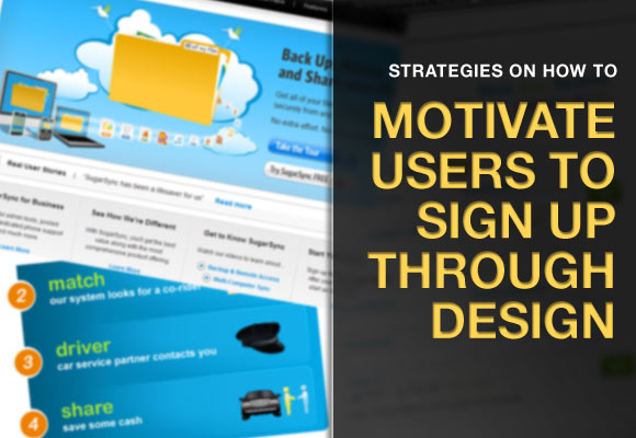 Motivating Users to Sign Up Through Design