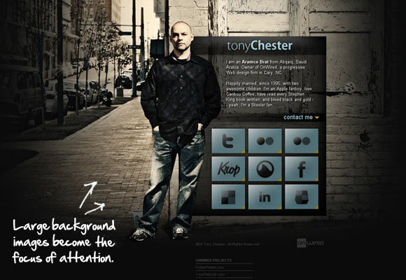 Tony Chester Folio