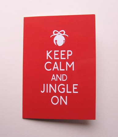 Keep Calm Christmas Card