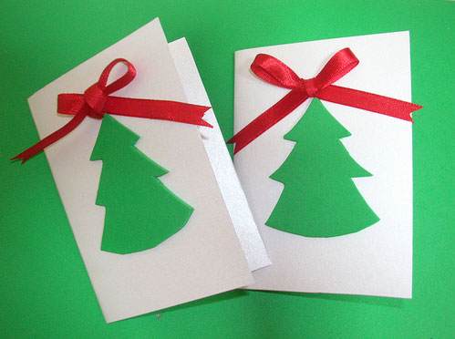 Hand made christmas cards and tags