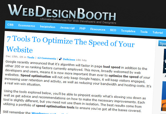 Web Design Booth