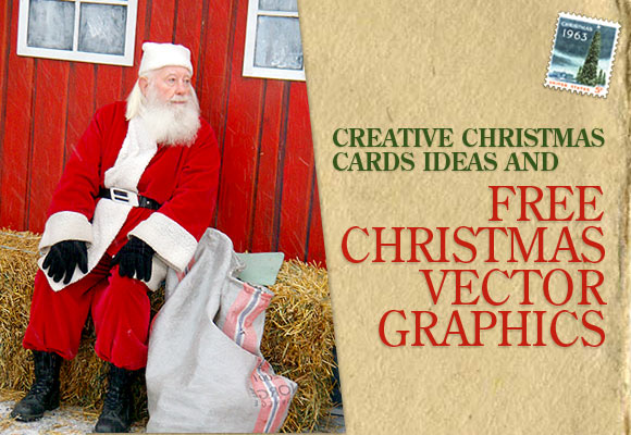 christmas cards and vectors - Christmas Photo Cards Ideas