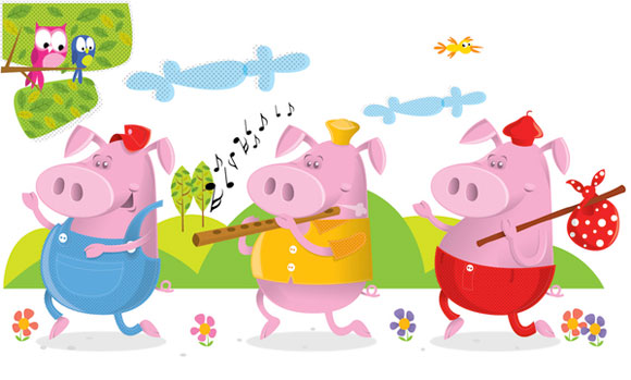 Three Little Pigs - Dave Kurtz William
