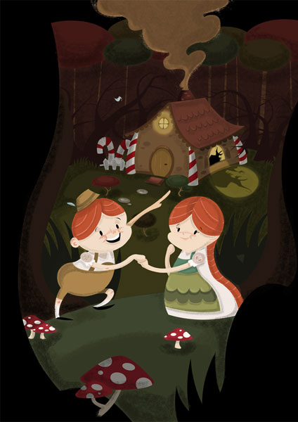 Hansel and Gretel - 2DCale