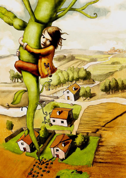 Jack and The Beanstalk - Sebastiao Peixoto