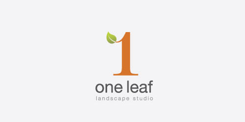 One Leaf Landscape Studio Logo