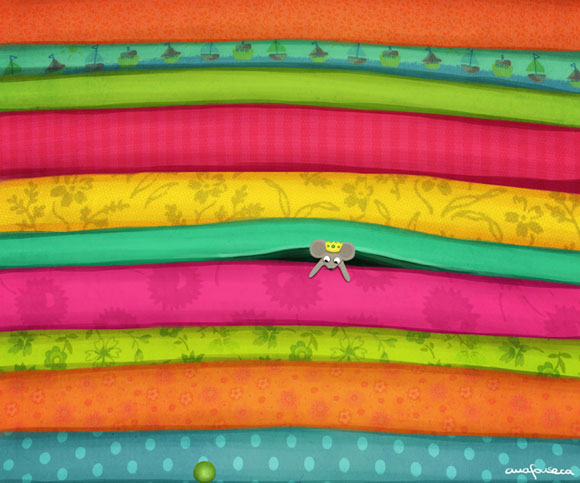 The Princess and The Pea - Ana Fonseca