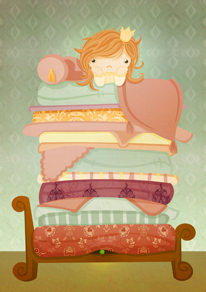 The Princess and The Pea - SquidPig