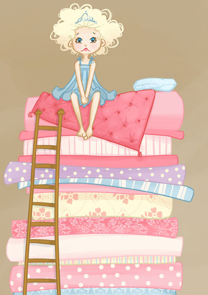 The Princess and The Pea - Hanna Sandvig