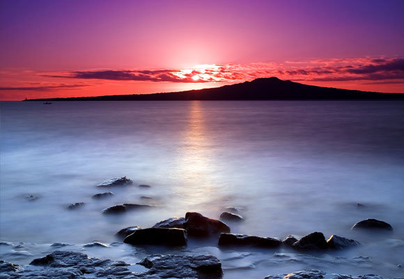 Rangitoto Dawn