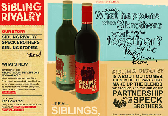 Sibling Rivalry Wine