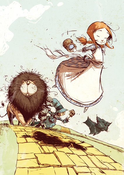 The Wonderful Wizard Of Oz - Skottie Young