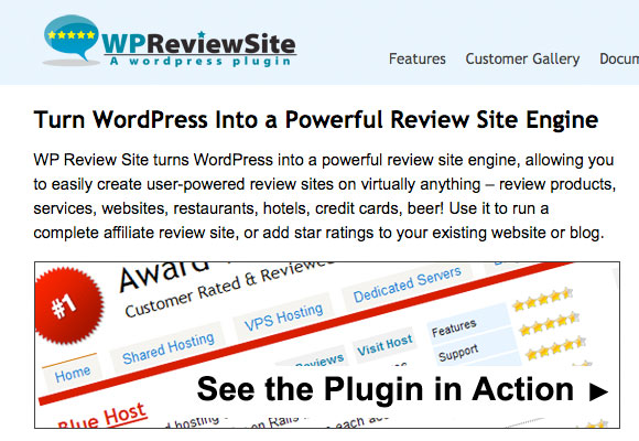 WP Review Site