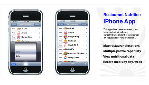 Fastfood iPhoneapp