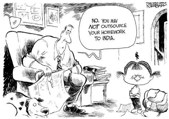 Outsource to India
