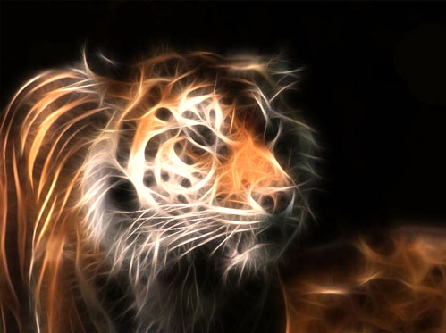 Surreal Tiger