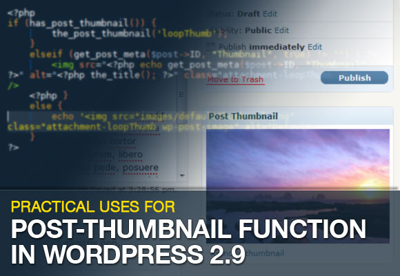 Post-Thumbnail Function in WordPress 2.9