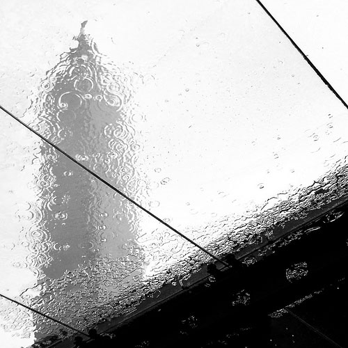 Taipei 101 And I Were Separated By The Rain