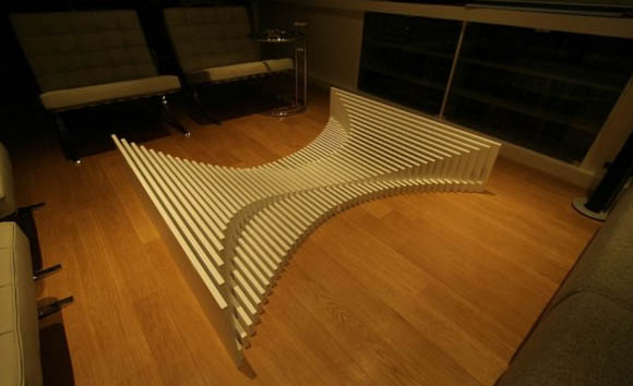 Renzo Glass Coffee Table