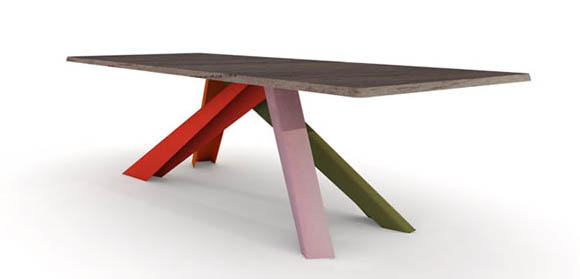 Big Foot Table by Alain Gilles 2