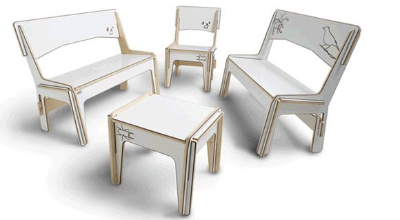 Detachable Table & Chair Set 1