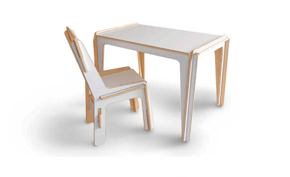 Detachable Table & Chair Set 3