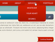 Build a HTML5/CSS3 Website Layout Without Images – Part 2