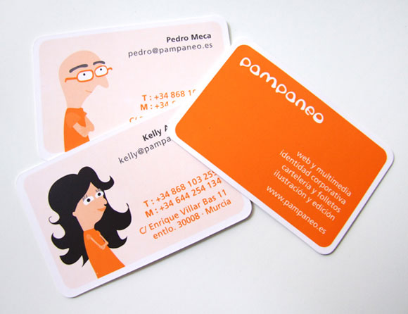 38 business cards of designers in the community pampaneo colourmoves