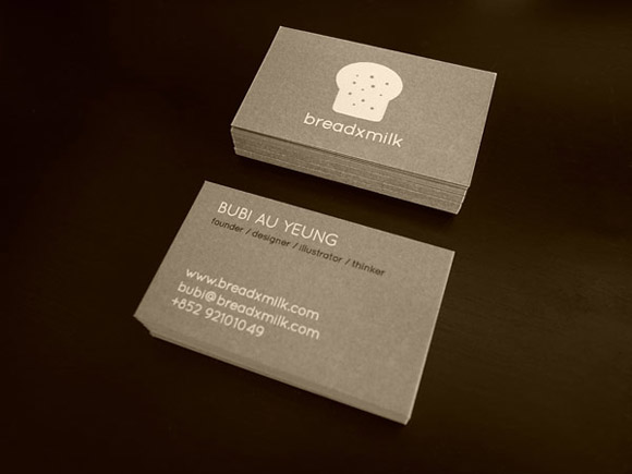 38 business cards of designers in the community