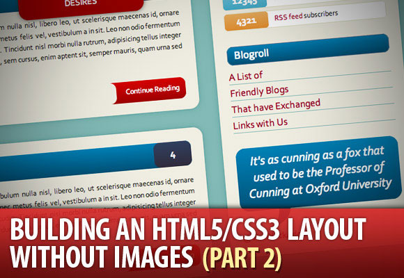 Build a HTML5/CSS3 Website Layout