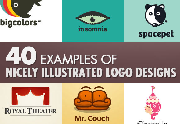 40 Examples of Nicely Illustrated Logo Designs