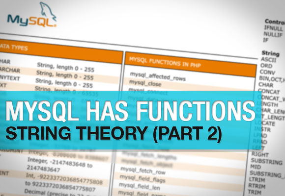 MySQL Has Functions (Part 2)