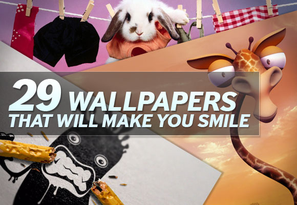 29 Wallpapers That Will Make You Smile