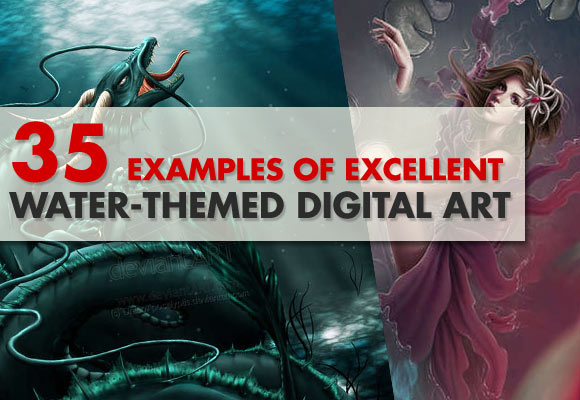 35 Examples of Excellent Water-Themed Digital Art